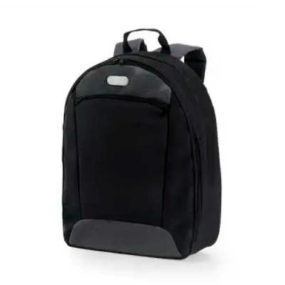 Imagine Pack Brindes - Mochila para notebook. 600D2Tone e 300D. Compartimento com divisória almofadada para notebook até 14''. Interior forrado e almofadado, com diversos bo...