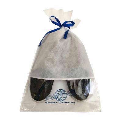imagine-pack-brindes - Saco para sapatos em TNT com visor