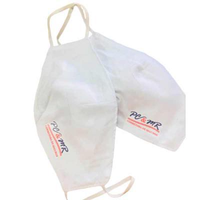 Imagine Pack Brindes - Máscara para proteção em algodão duplo ( brim leve ). Personaliza do seu jeito.