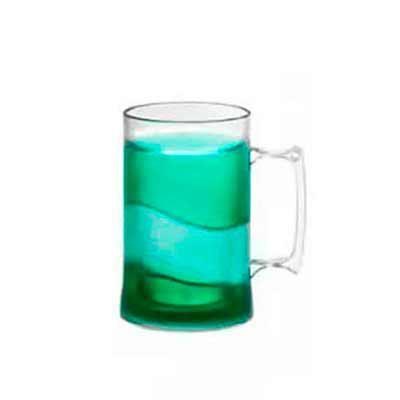 Imagine Pack Brindes - Caneca acrílica de Gel Congelante 450 ml. Altura : 13,5 cm e diâmetro: 9 cm. Cores sujeitas à disponibilidade no estoque.