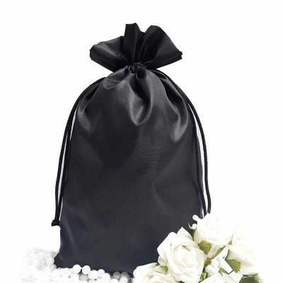 Imagine Pack Brindes - Saco de nylon resinado. Várias cores e tamanhos! Cordão ou fitinha dupla embutida.
