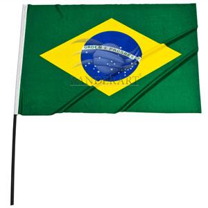 Banderart - Bandeira modelo torcedor (com ou sem haste)