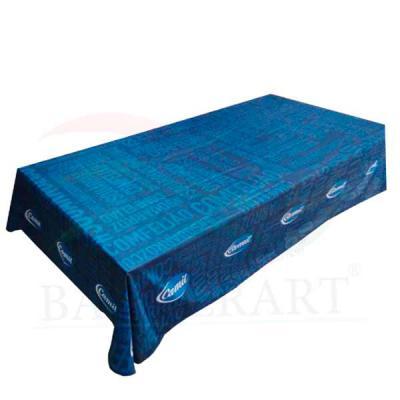 Banderart - Toalha de mesa personalizada confeccionada em tecido Duralon®100%poliéster, formatos e tamanhos variados, (retangular, quadrada, redonda), estampa dig...