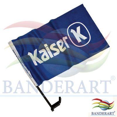 Banderart - Bandeira para vidro de carro promocional