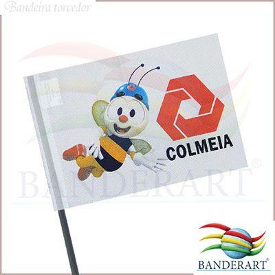 Banderart - Bandeira com haste para carro