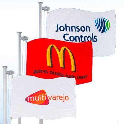 Banderart - Bandeiras promocionais verticais estampadas