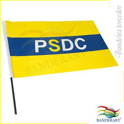 Banderart - Bandeira personalizada e confeccionada em tecido duralon,100% poliéster.