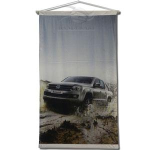 Banderart - Banners com gravação personalizada em tecido.