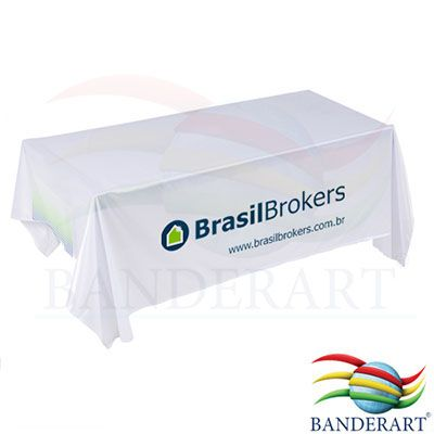 Banderart - Toalha de mesa personalizada, estampa digital em alta resolução, confeccionada no tecido duralon® 100% poliéster