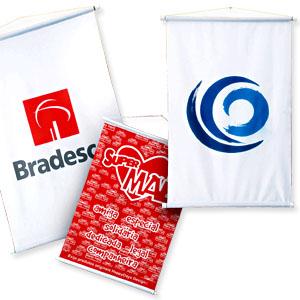 Banderart - Banners e estandartes promocionais com diversos tamanhos.