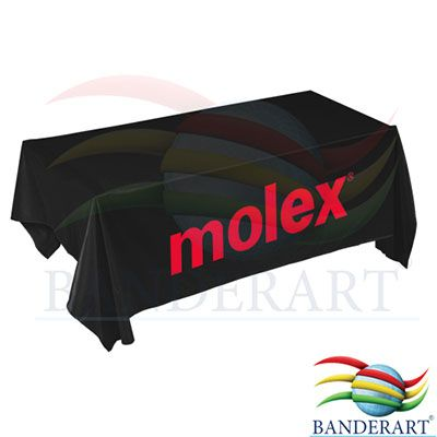 Banderart - Toalhas de mesa promocionais, confeccionadas no tecido duralon® 100% poliéster, estampa digital alta resolução