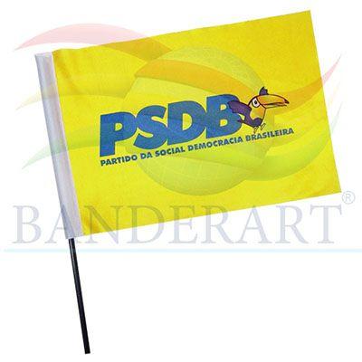 Banderart - Bandeira político torcedor.