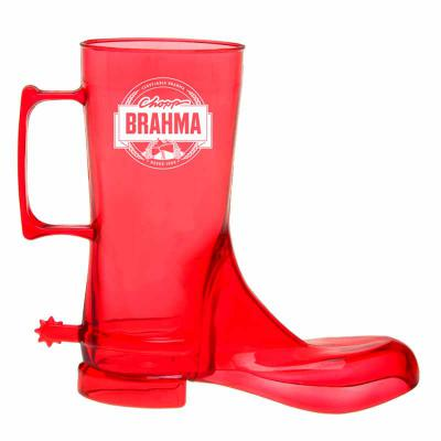 Still Promotion - Caneca plástica em formato de bota de Cowboy.