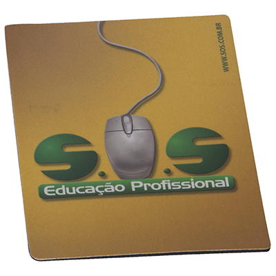 Still Promotion - Mouse pad recortado de acordo o logo do cliente