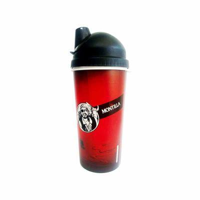 lamarca-brindes - Copo coqueteleira in label plástico 700 ml personalizado com tampa. Material pp livre de bpa. Personalização: label sem limite de cores, 360°. Tampa r...