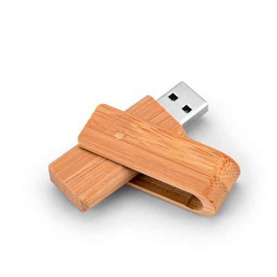Lamarca Brindes - Pen drive. Bambu. Capacidade: 8GB. 59 x 19 x 12 mm, 01 gravação.
