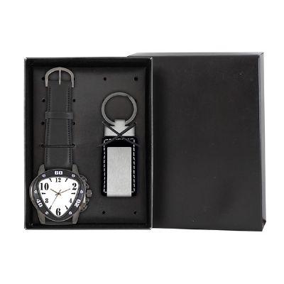Lamarca Brindes - Kit contém: Relógio de pulso 1823 pulseira sintética, 01 gravação e chaveiro sintético e metal LA993156.03, 01 gravação.