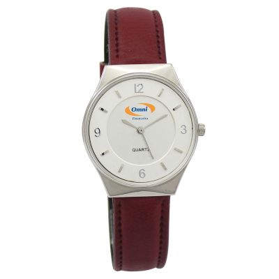 Lamarca Brindes - Relógio de pulso com mostrador cinza, pulseira sintética e uma cor de gravação. Acompanha certificado de garantia e embalagem individual.
