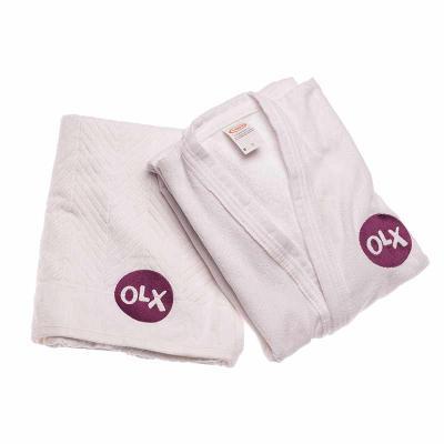 Opção Promocional - Kit Roupão e Toalha