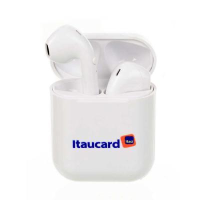 Opção Promocional - Fone de ouvido Wireless (sem fio), impressão COLORIDA UV, modelo i9, Compatível com celulares Android e iPhones, tablets etc, que possuam conexão Blue...