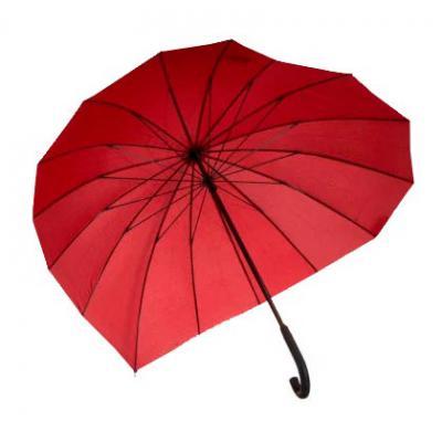 opcao-promocional - Guarda-chuva em formato de coração