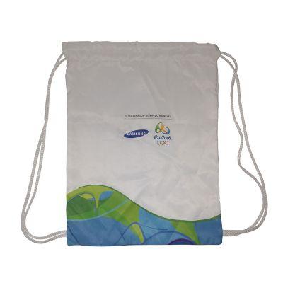 Opção Promocional - Mochila saco personalizada.