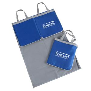 Opção Promocional - Sacola-Esteira confeccionada em nylon dublado.