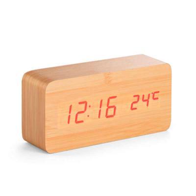 NTP Brindes - Relógio de madeira