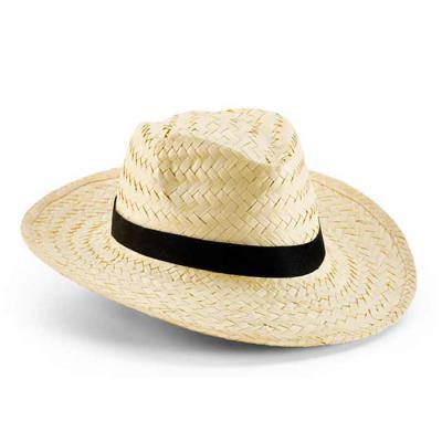 NTP Brindes - Chapéu Panamá Confeccionado em palha natural  Tamanho: 58 cm Com fita na cor bege ou preta COM 01 impressão na fita na medida de 380 x 18 mm  Ótima op...
