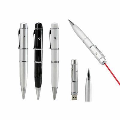 NTP Brindes - Caneta com pen drive e laser point