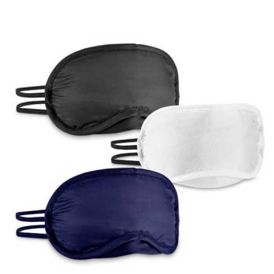 NTP Brindes - Máscara de descanso para dormir Interior almofadado  Tamanho: 18,5 x 9 cm