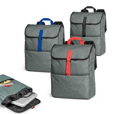 """NTP Brindes - Mochila para notebook Confeccionada em nylon 600 de alta densidade Compartimento interno almofadado para notebook de até 15,6"""" Bolso frontal com zíper..."""