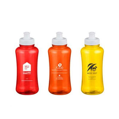 Redosul Brindes - Squeeze personalizado em pet ecológico com frasco injetado. Capacidade de 550ml.