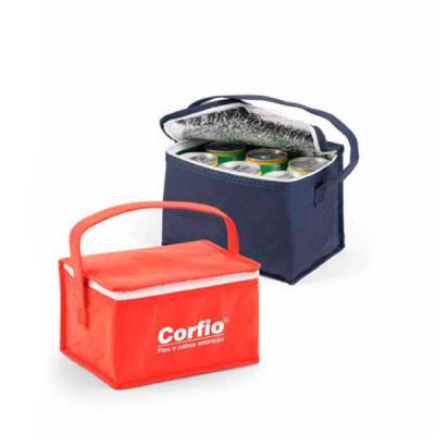 Redosul Brindes - Bolsa térmica promocional personalizada em Transfer confeccionada em tecido Non-woven de 80 g/m². Capacidade até 3 litros. Diversas opções de cores. M...