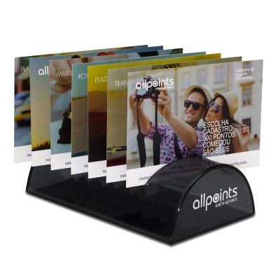 Acril Designer - Porta Cartão Postal Allpoints