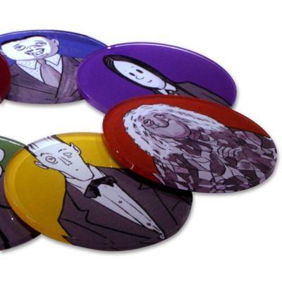Bilateral Promocionais - Porta Copos A Família Addams