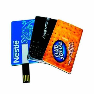 VitoriaYZ - Pen Card Personalizado frente e verso em U.V. digital (gravação ultra violeta) sem limite de cores, memória COB de 04, 08, 16 ou 32 gigas. Pen Drive P...