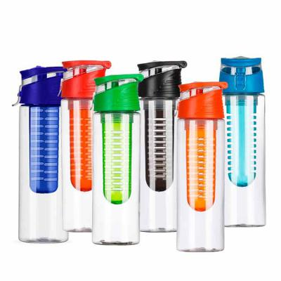 VitoriaYZ - Squeeze Plástico 700ml com Infusor