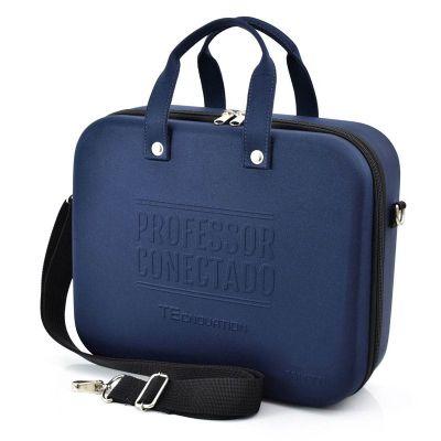 Rampazzo Brindes Especiais - Maleta termo moldada em E.V.A. com revestimento, zíper, bolso interno em nylon e tela e gravação personalizada.