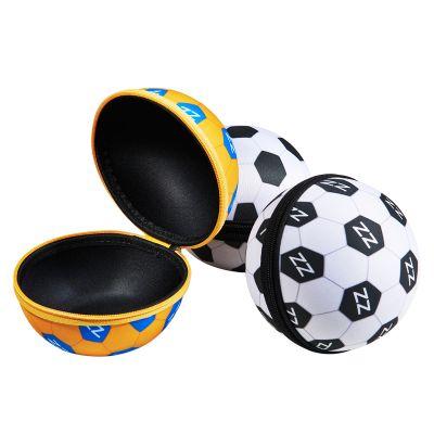 Rampazzo Brindes Especiais - Necessaire em formato de bola promocional.