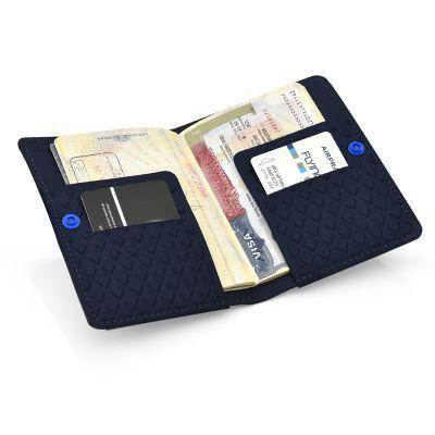 Rampazzo Brindes Especiais - Porta-passaporte termomoldado.