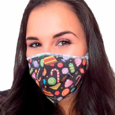 Brinde & Leve - Máscara de Proteção em Tecido Personalizada