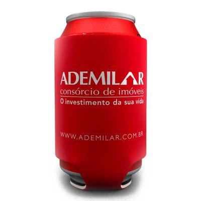 Brinde & Leve - Porta latas personalizado em neoprene