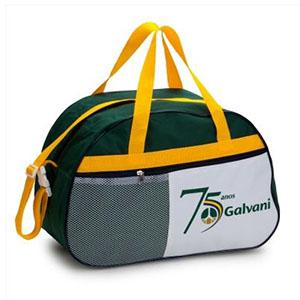 Super Brindes - Bolsa de viagem personalizada em poliéster nylon com bolso de telinha