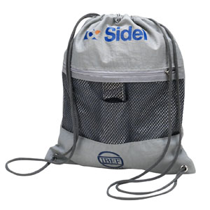 Super Brindes - Saco mochila em nylon.